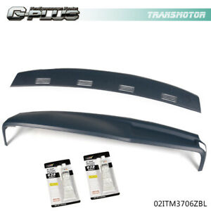 2pcs For Dodge Ram 2002 2003 2004 2005 Abs Molded Dash Cover Cap Overlay