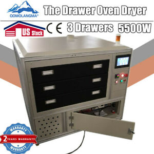 3 Drawers Oven Dryer Ir For Direct To Garments Printing screen Printing pick Up