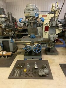 Kearney Trecker d Rotary Head Milling Machine Item 1096