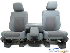Ford Super Duty Powered Cloth Front Seats 1999 2012 2013 2014 2014 2015 2016