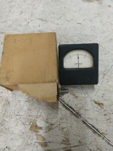 Vintage Westinghouse Electrical Panel Meter Gauge 1 0 1 Milliamperes Dc