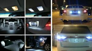 Fits 2004 2006 Acura Tl Reverse 6000k White Interior Led Lights Package Kit 20x