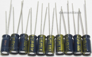 10x Panasonic Fc 10uf 50v Low esr Impedance 105c Radial Capacitors Caps