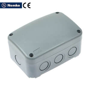 Electrical Enclosure Plastic Junction Box Ip66 Dust water Proof 125 86 62mm