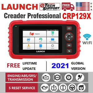 Launch X431 Pro Crp129x Obd2 Abs Srs Engine At Diagnostic Scanner Code Reader Us