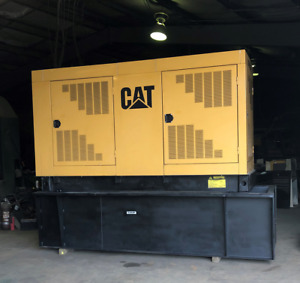 Cat 250 Kw Diesel Generator Set W 1113 Hours