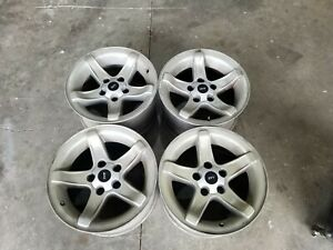 4 Ford F150 Lightning Svt 18 X 9 5 Factory Oem Wheel Rims With Center Caps