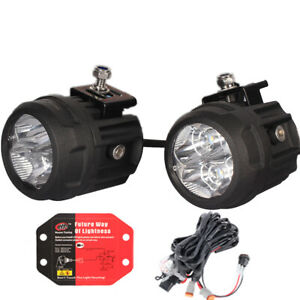 House Tuning Led Spot Light 80w Kit 3 Inch Round Led Motorcycle Lights 2 Pack