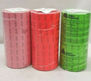 Monarch 1136 Pre print Labels sleeve Of 8 Rolls 14 000 Labels sleeve pick Color