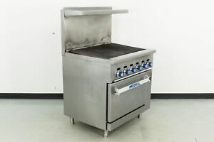 Used Imperial Ir 36br 36 Char broiler W standard Oven 507479