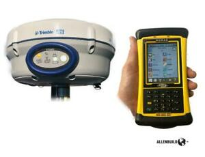 Trimble R6 Network Rover With Spectra Nomad survey Pro Ts Gps Full Working Kit