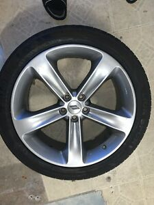 Dodge Oem Charger Challenger Wheels Rims And Tires 245 40 R20 20x8 Set Of 4