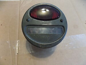 Wwii Military Halftrack Scout Car Dodge Wc Marchal Tail Light 12v Nos