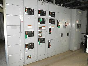 Ge Evolution Mcc 9000 Motor Control Center 2000 Amp Main Parting Out 2241dv