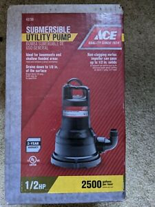 Ace Pump 1 2 Hp 2500 Gallons Per Hour 43756