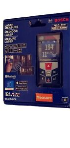 New Bosch Laser Measure Glm 50 Cx 165 Ft with Bluetooth And Full colour Display