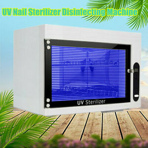 Dry Heat Sterilizer Cabinet Autoclave Magnifier Tattoo Disinfect Salon Machine