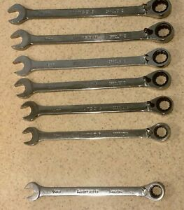Matco Tools Usa Reversible Combination Ratcheting Wrench Set