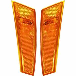 Fit For Jeep Liberty 2008 2009 2010 2011 2012 Front Side Marker Right Left Set