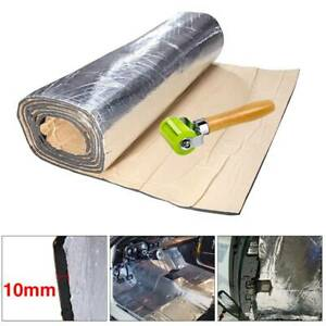 Sound Deadener Car Heat Shield Insulation Adhesive Mat With Seam Roller 60 X40