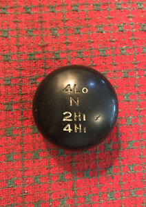 Vintage 4x4 Shift Knob 4 Wheel Drive Transfer Case Chevy Gmc Ford Dodge Truck