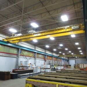 10 Ton X 45 Sharrow Federal Overhead Bridge Crane Yoder 73098