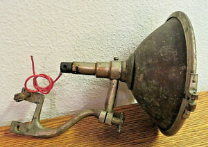 Antique 1917 Silverbeam Spotlight Motorcycle Auto Kaufmann Sons Model T
