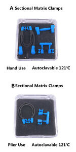Dental Sectional Matrix Bands Ring Holder Matrices Clamps Retainer Wedges Clip