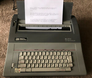 Smith Corona Electronic Typewriter Sl570 Spell Right W Manual Tested A