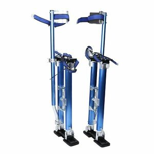 Blue Drywall Stilts 24 40 Tool Stilt For Painting Painter Taping Usa Shipping