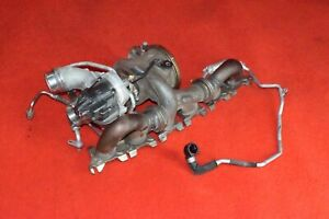 Bmw G30 340 440 540 750 B58 Turbo Engine Exhaust Charge Cooler Assembly Oem