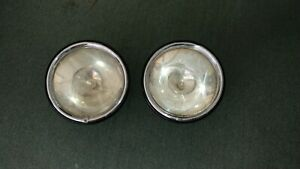 Vintage Pair Headlights Chevy Ford Buick Franklin Hot Rod