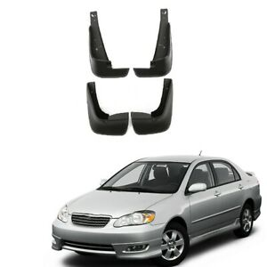 Mud Flaps Fit For Toyota Corolla 2003 2008 Mudguard Splash Guard Rear Front Set