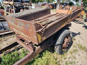 Late 20 s 30 s Truck Dump Box W Hoist Ford Model A T Truck Chevy Dodge Rat Rod