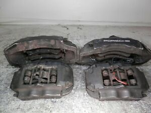 2003 2010 Porsche Cayenne Front And Rear Brembo Brake Calipers Full Set