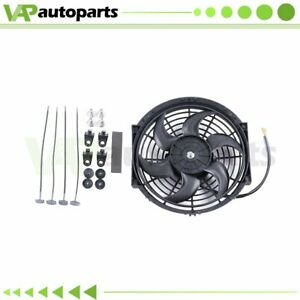 Radiator Condenser Cooling Fan 10 Inch Universal For Acura Integra Bmw 323ci