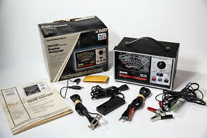 Sears Craftsman Solid State Electronic Engine Analyzer W Cables Box Manual