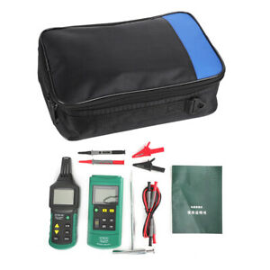 Ms6818 12v 400v Ac dc 125khz Wire Cable Locator Metal Pipe Tester Line