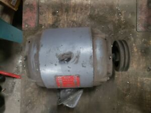 Clausing Colchester 13 Motor 2speed 1700 860rpm 3hp 220v3ph Brema Exc