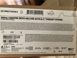 Kci 300ml Canisters with Gel For Acti vac Therapy M8275058 Box Of 5