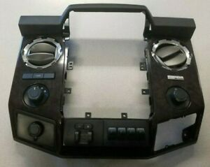 2013 2015 F250 F350 Radio Bezel Wood Dash Trim Kit Ford Oem