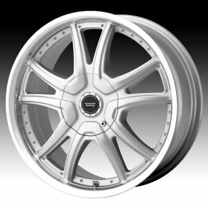 17x7 5 Silver Rims American Racing Ar607 4x100 114 3 4 Lug Honda Civic Huge Sale