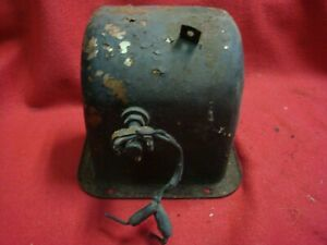 Mg Mgb B Mgbgt Used 68 74 Pedal Cover With Brake Switch As Removed Condition