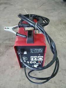 Mig Welder Naw100mig Flux Core Wire Feed By North American Tools