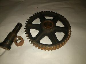 D71r Idler Gear With Shaft John Deere Late Unstyled Styled D Tractor