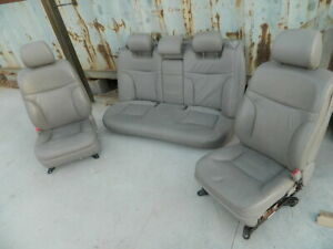 Lexus Es 330 Leather Seats Set Of 3 Front And Rear Passenger Seats