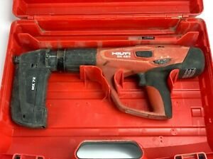 Hilti Dx 460 With Mx 72 Powder Actuated Tool Used Good Condition With Case