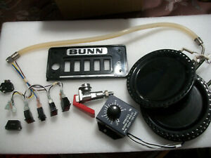 Commercial Bunn O Matic Coffee Maker Parts
