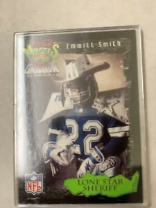 1994 Coca Cola Football Emmitt Smirh Lone Star Sheriff #8 Of 30