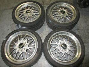 235 40 18 265 35 18 Bbs Staggered Mag Wheels 5x114 3 Offset 40 50 Bbs Mag Wheel